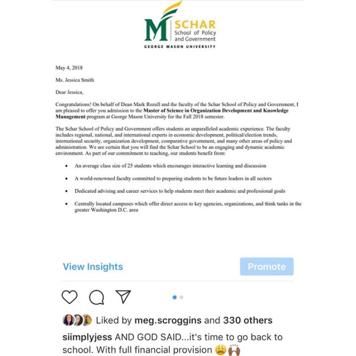 grad school letter